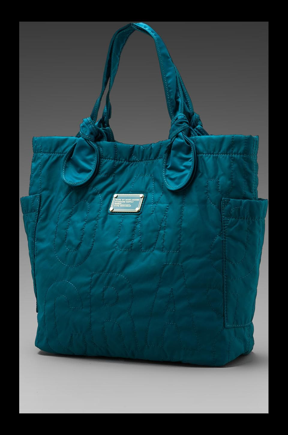 Marc by Marc Jacobs Pretty Nylon Medium Tote in Deep Teal
