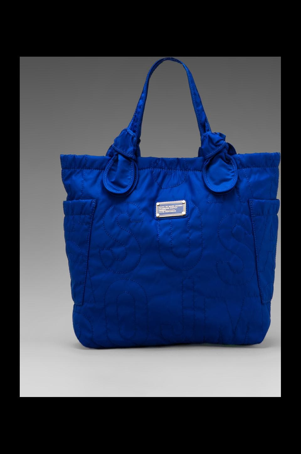 Marc by Marc Jacobs Pretty Nylon Medium Tote in Bauhaus Blue
