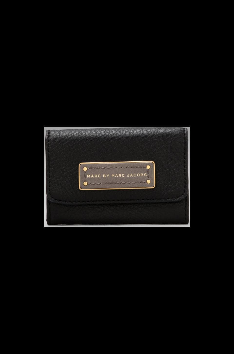 Marc by Marc Jacobs Too Hot to Handle Colorblocked Card Case in Black Multi