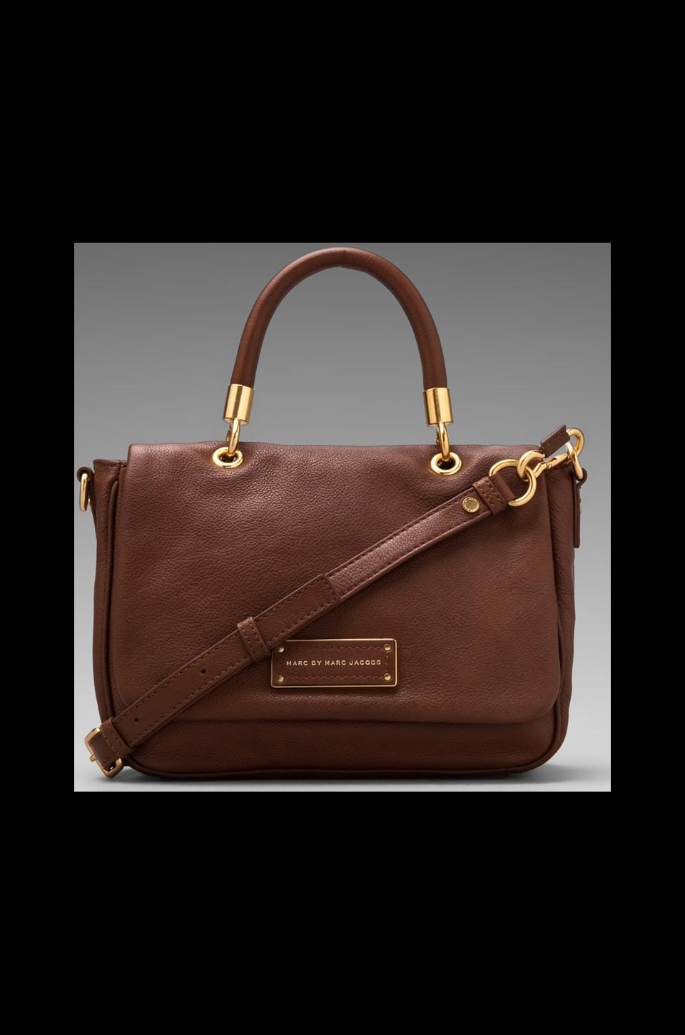 Marc by Marc Jacobs Too Hot to Handle Small Top Handle in Redwood
