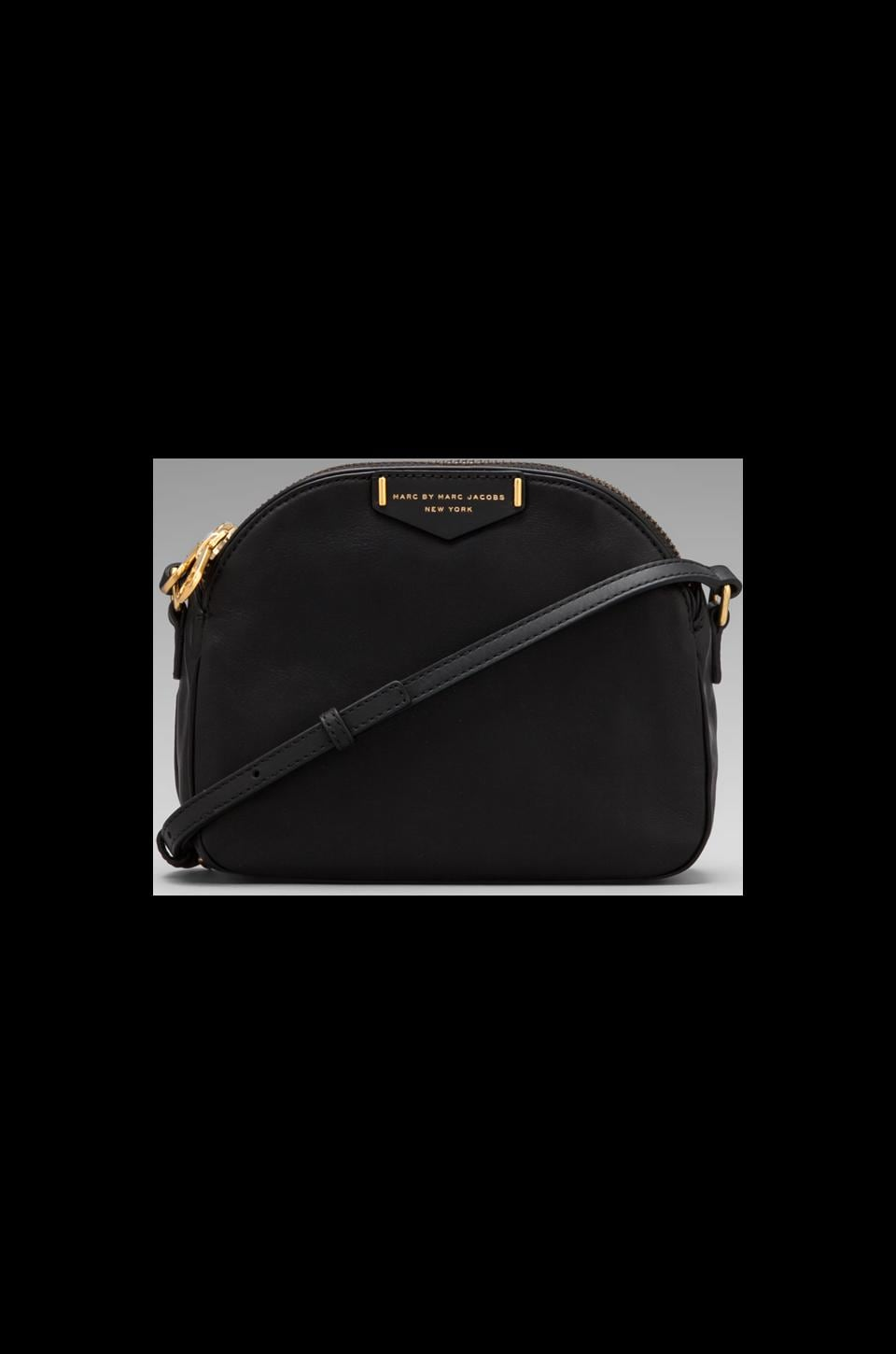 Marc by Marc Jacobs Downtown Lola Leather Crossbody in Black