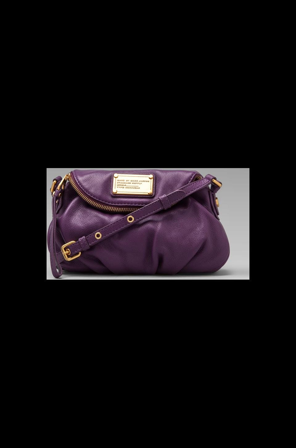 Marc by Marc Jacobs Classic Q Mini Natasha Crossbody in Pansy Purple