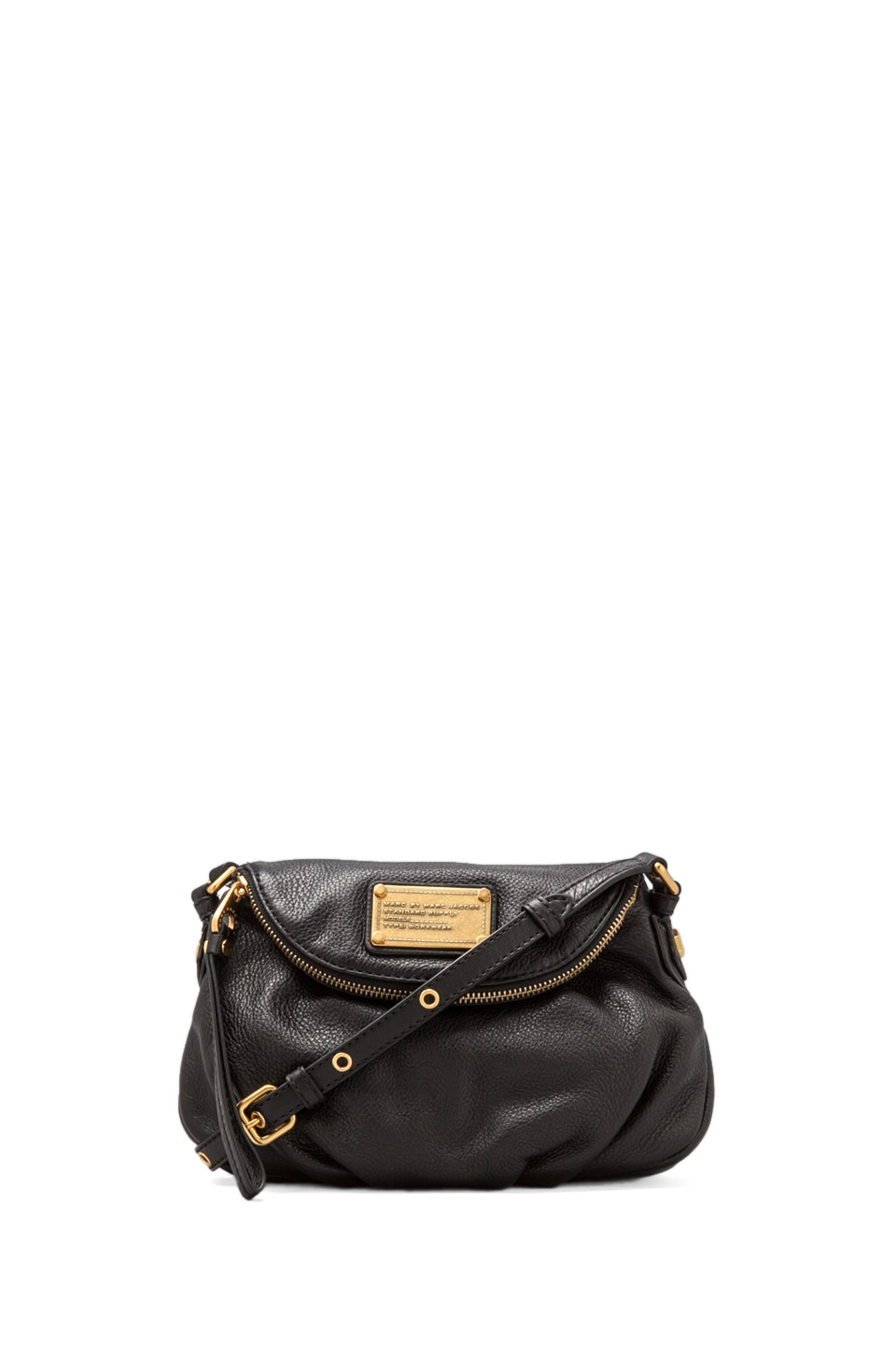 Marc by Marc Jacobs Classic Q Mini Natasha Crossbody in Black