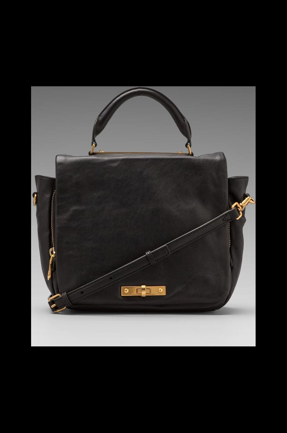 Marc by Marc Jacobs Goodbye Columbus Top Handle in Black