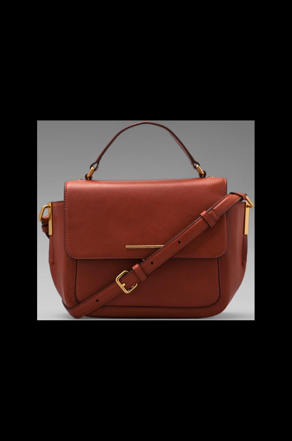 Marc by Marc Jacobs Get A Grip Emma Top Handle in Red Clay