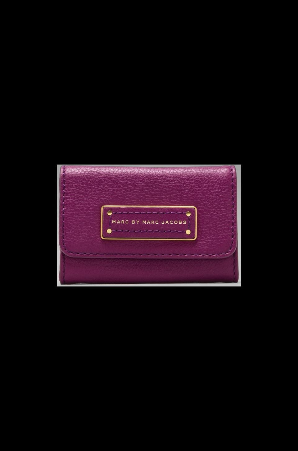 Marc by Marc Jacobs Too Hot to Handle Card Case in Brighter Purple