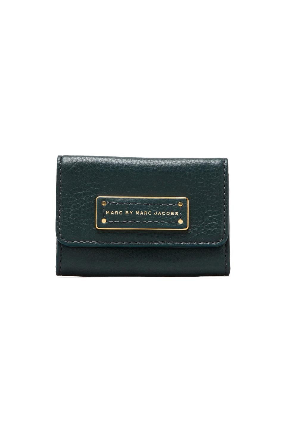 Marc by Marc Jacobs Too Hot to Handle Card Case in Teal Goblet
