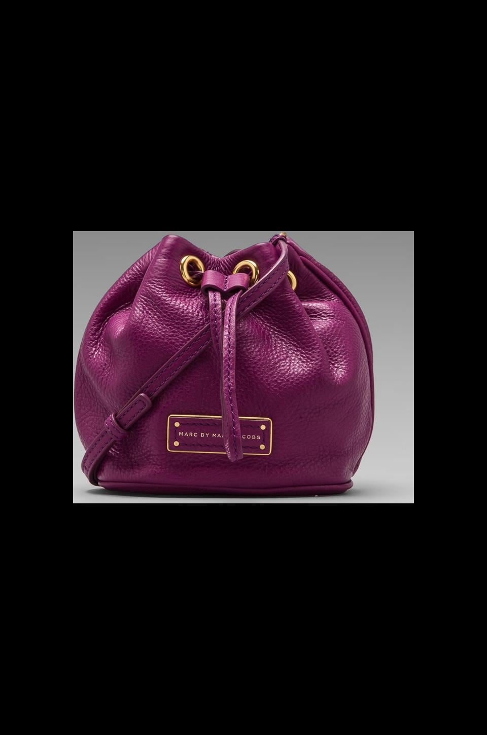Marc by Marc Jacobs Too Hot to Handle Mini Drawstring in Brighter Purple