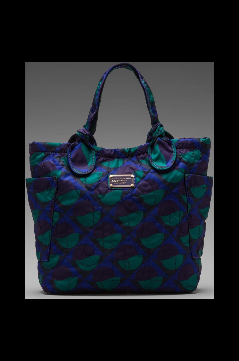 Marc by Marc Jacobs Pretty Nylon Etta Print Medium Tote in Jungle Green Multi