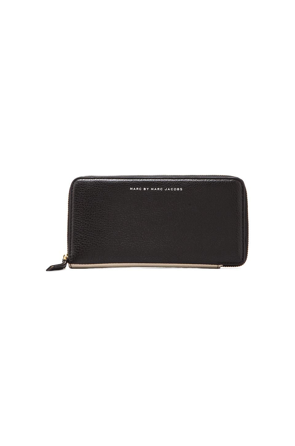 Marc by Marc Jacobs Sophisticato Slim Zippy in Black Multi