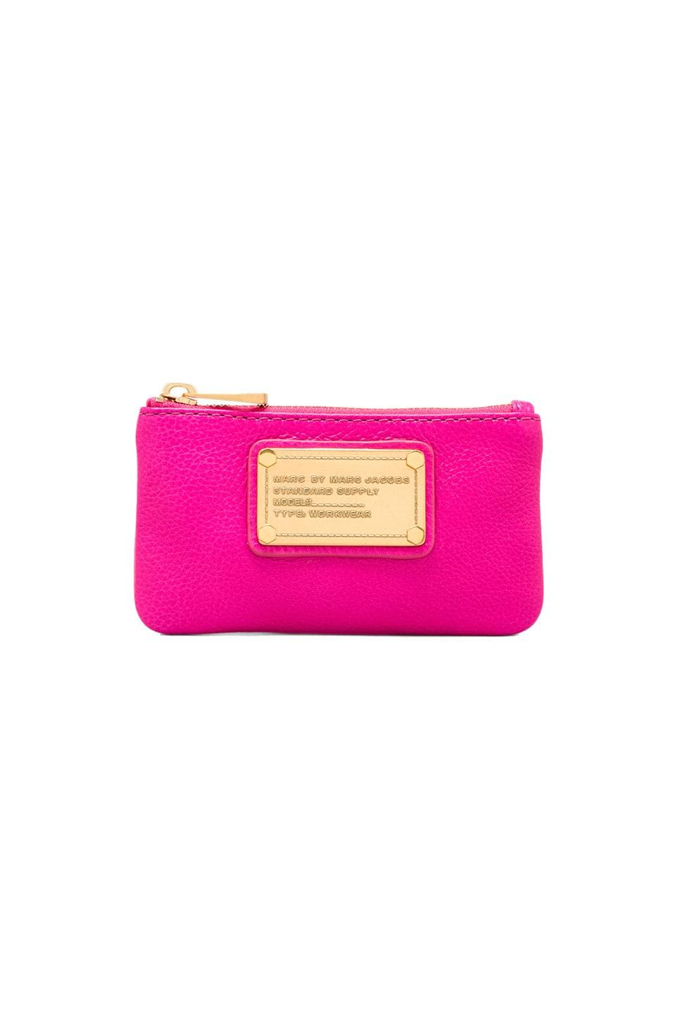 Marc by Marc Jacobs Classic Q Key Pouch in Pop Pink