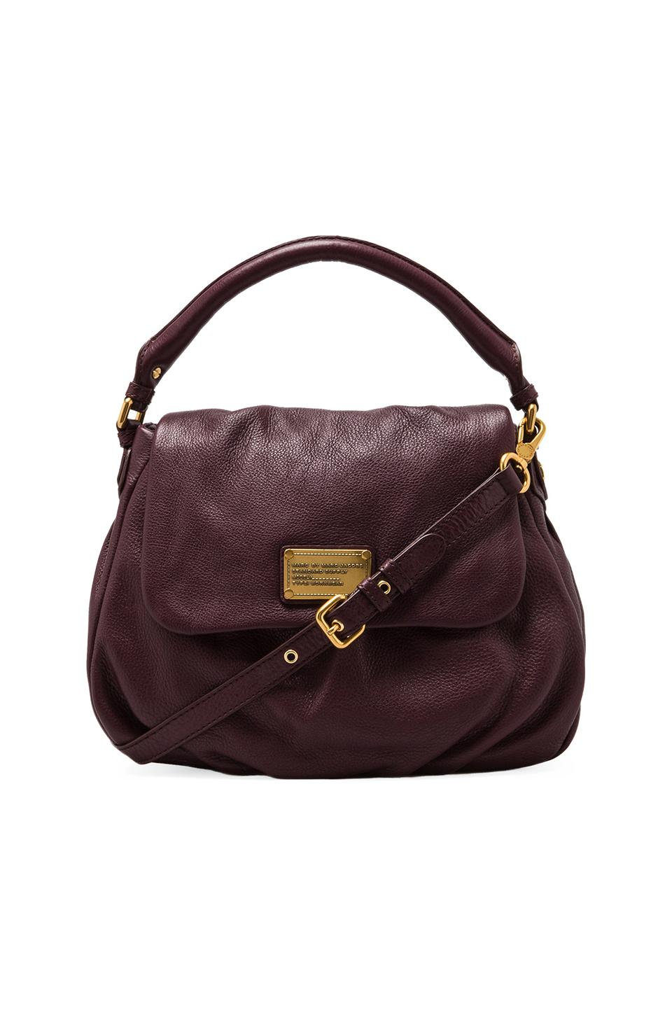 Marc by Marc Jacobs Classic Q Lil Ukita Shoulder Bag in Cardamom Brown