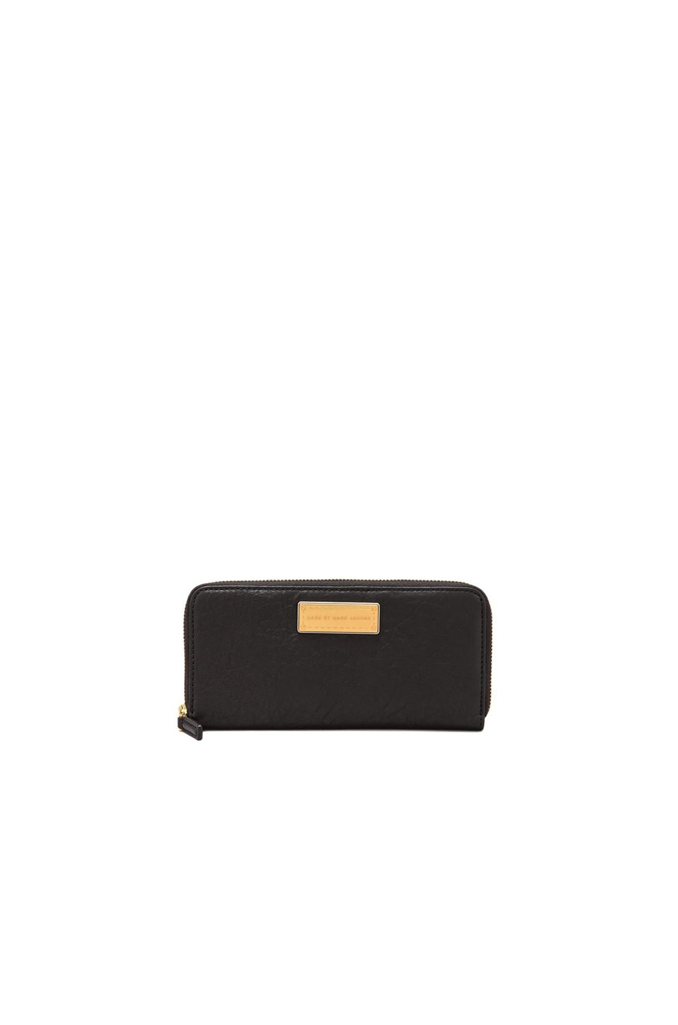 Marc by Marc Jacobs Washed Up Slim Zip Around in Black