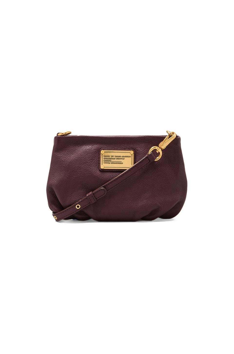 Marc by Marc Jacobs Classic Q Percy Crossbody Bag in Cardamom Brown