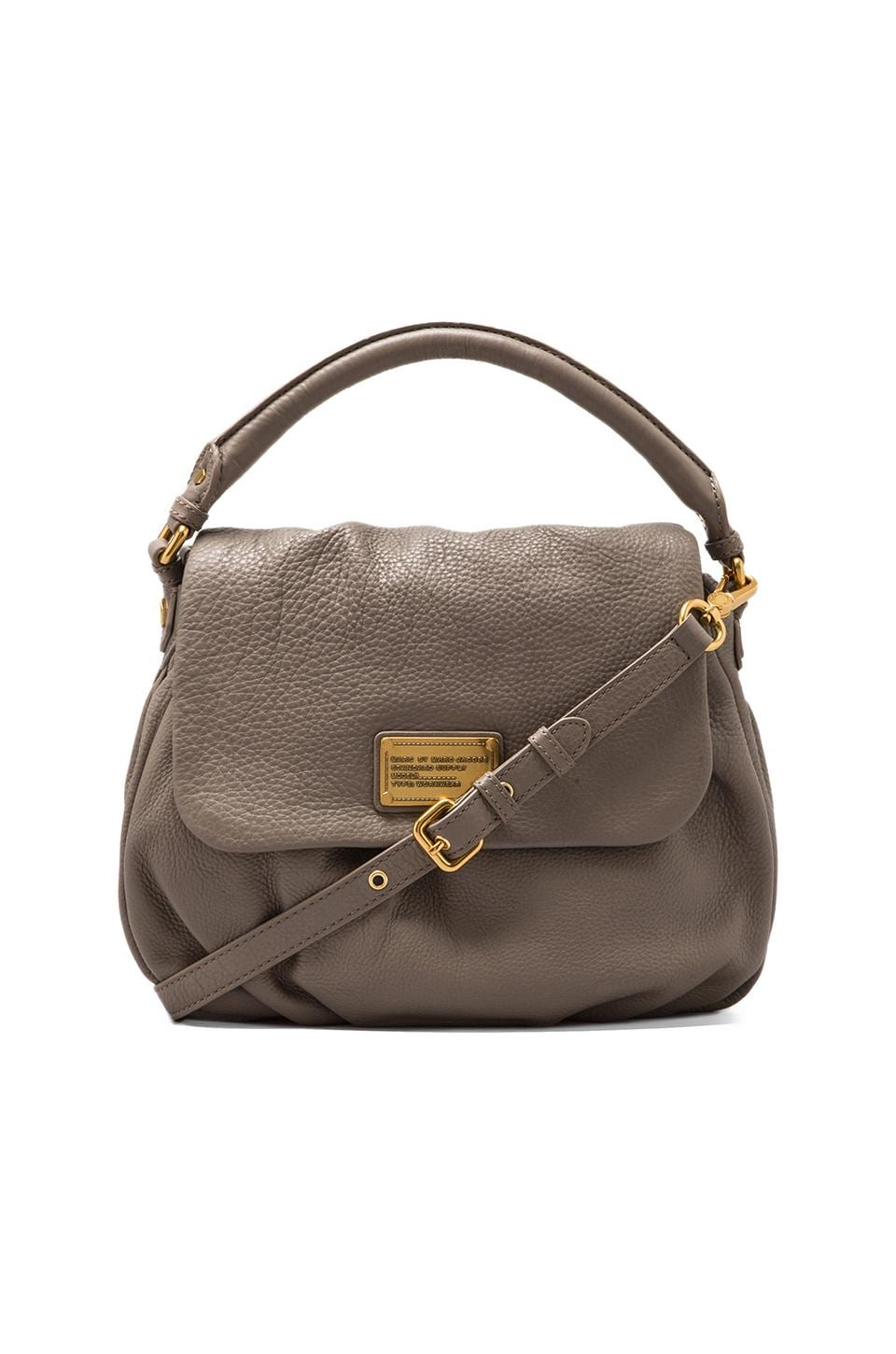 Marc by Marc Jacobs Classic Q Lil Ukita Shoulder Bag in Warm Zinc