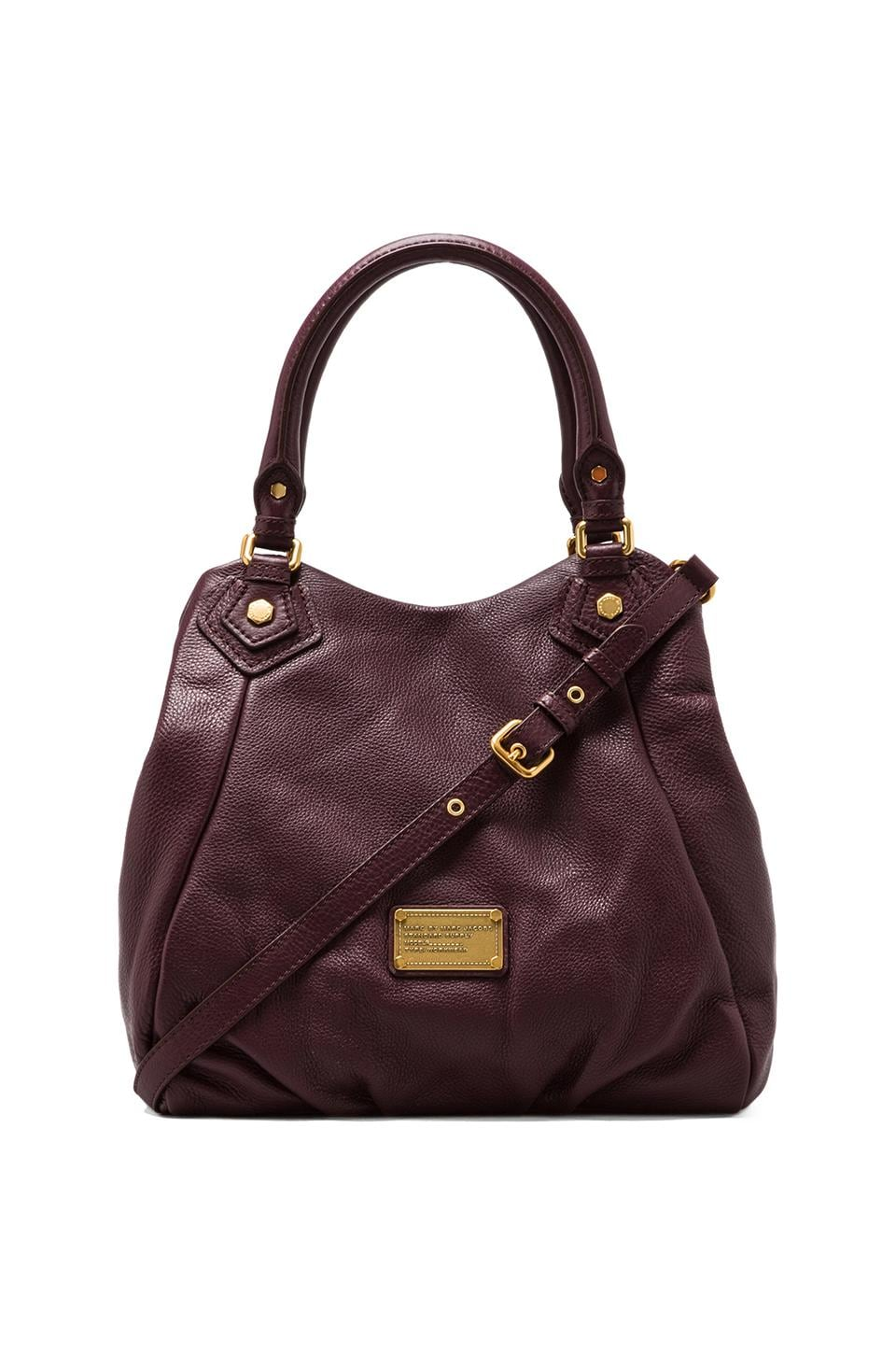 Marc by Marc Jacobs Classic Q Fran Shoulder Bag in Cardamom Brown