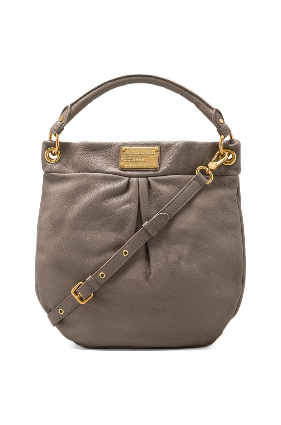 Marc by Marc Jacobs Classic Q Hillier Hobo in Warm Zinc