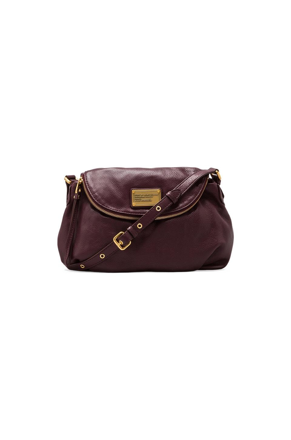 Marc by Marc Jacobs Classic Q Natasha Satchel in Cardamom Brown