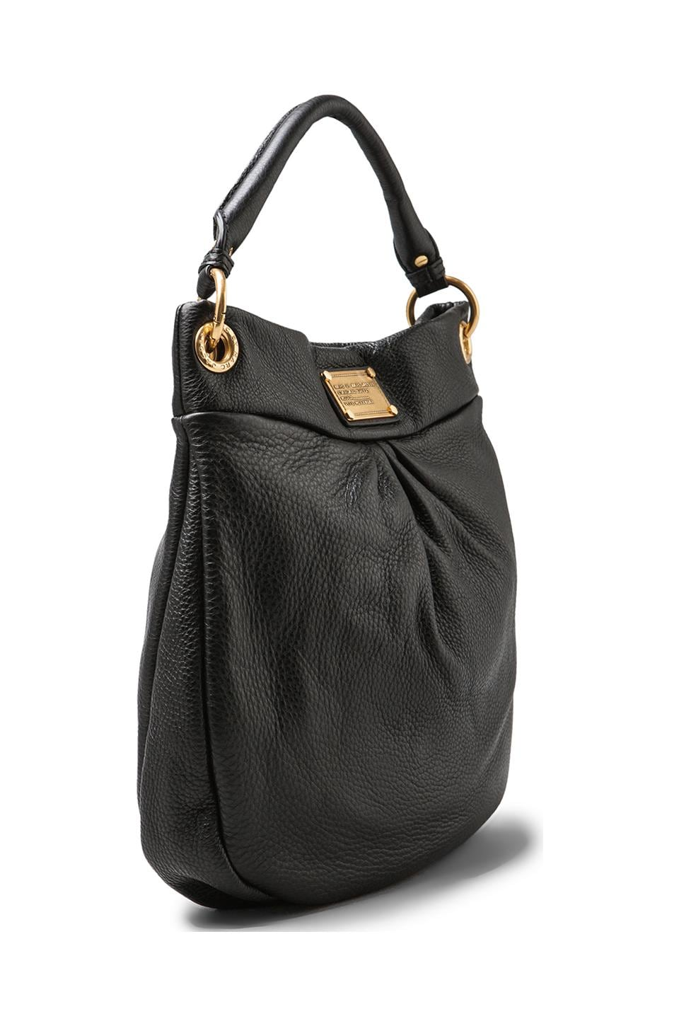 Marc by Marc Jacobs Classic Q Hillier Hobo in Black