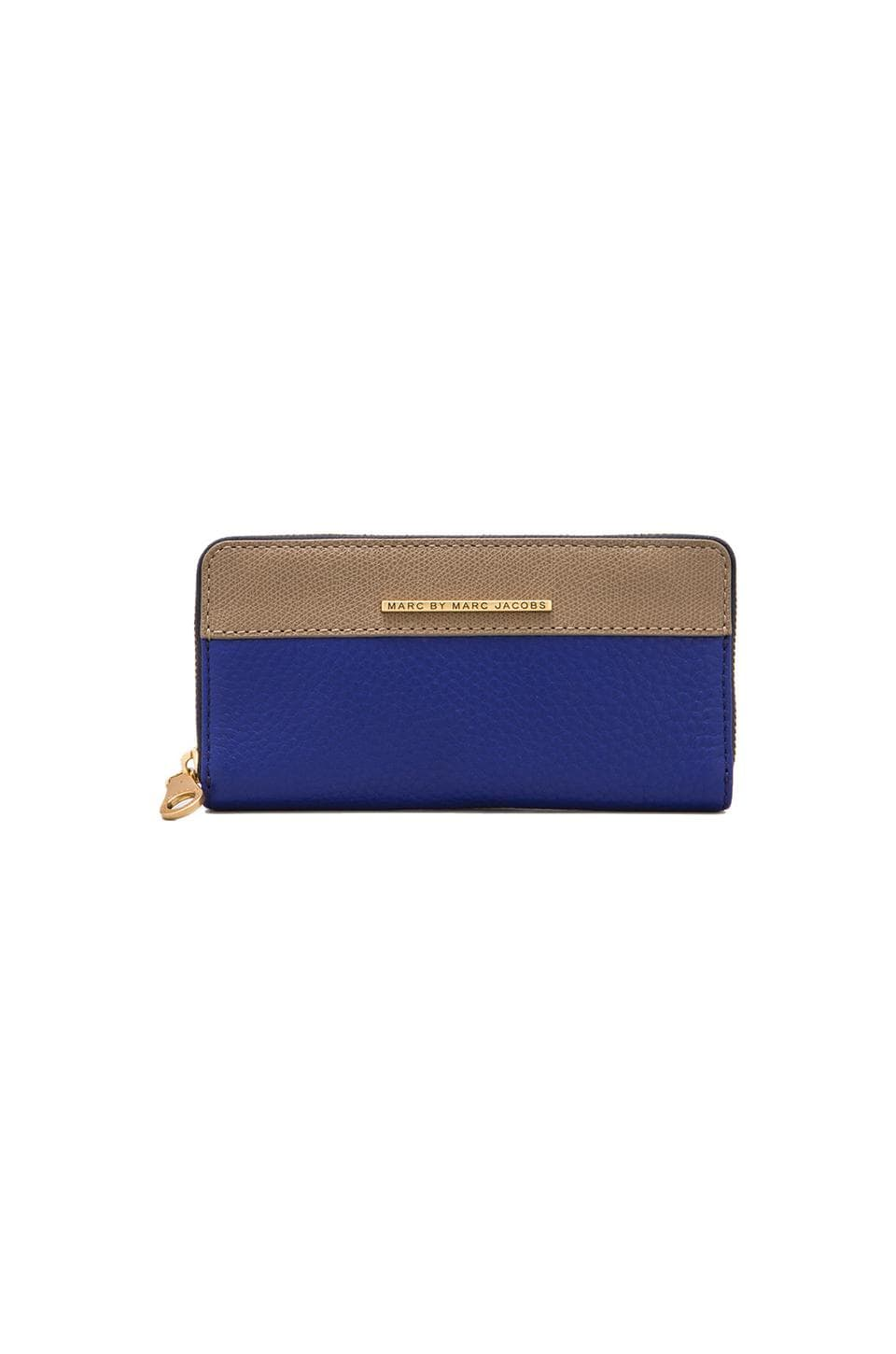 Marc by Marc Jacobs Sheltered Island Slim Zippy in Bright Royal Multi