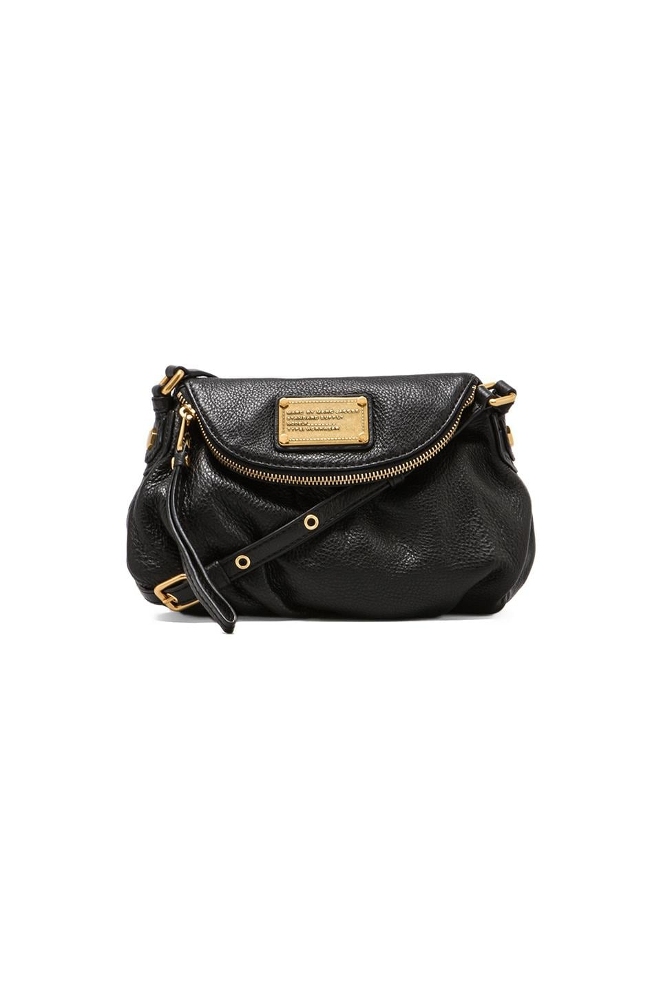Marc by Marc Jacobs Classic Q Mini Natasha Bag in Black
