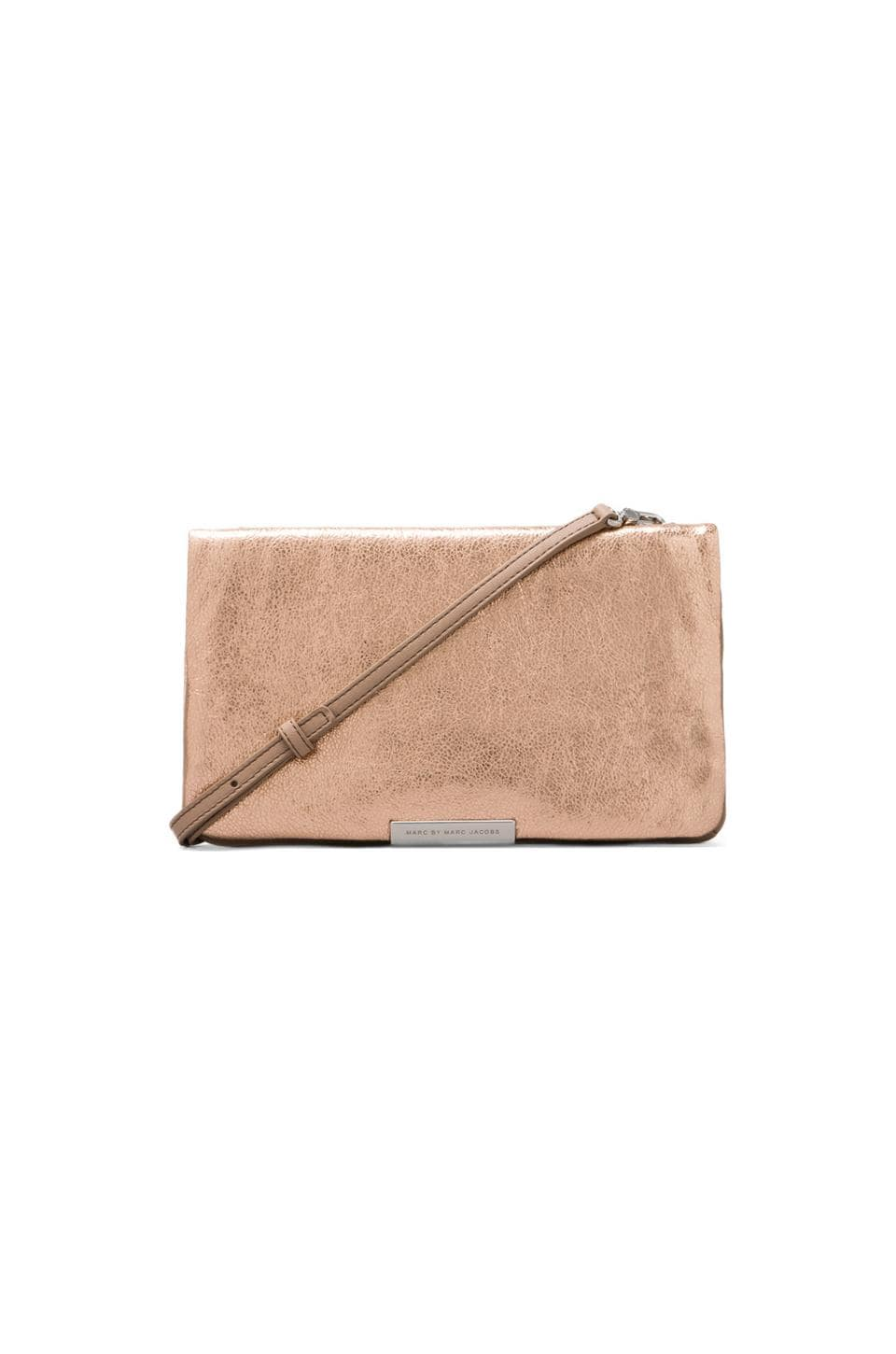 Marc by Marc Jacobs Raveheart Clutch in Rose Gold