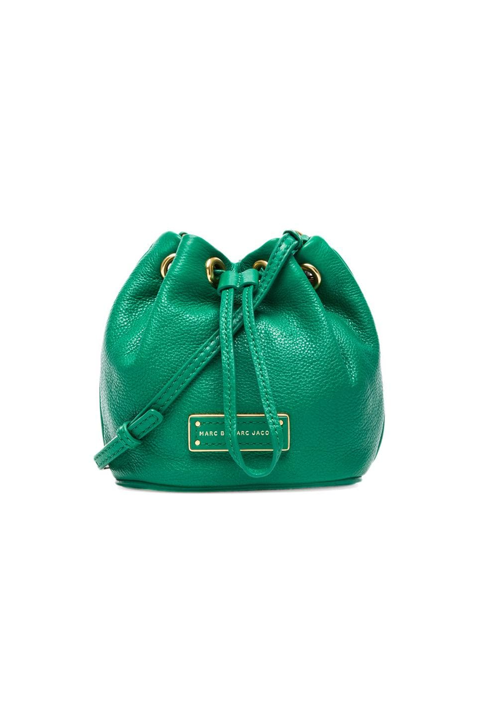 Marc by Marc Jacobs Too Hot To Handle Mini Drawstring Bag in Soccer Pitch Green