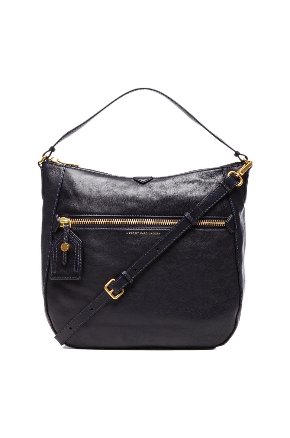 Marc by Marc Jacobs Globetrotter Kirsten Hobo in Midnight Navy