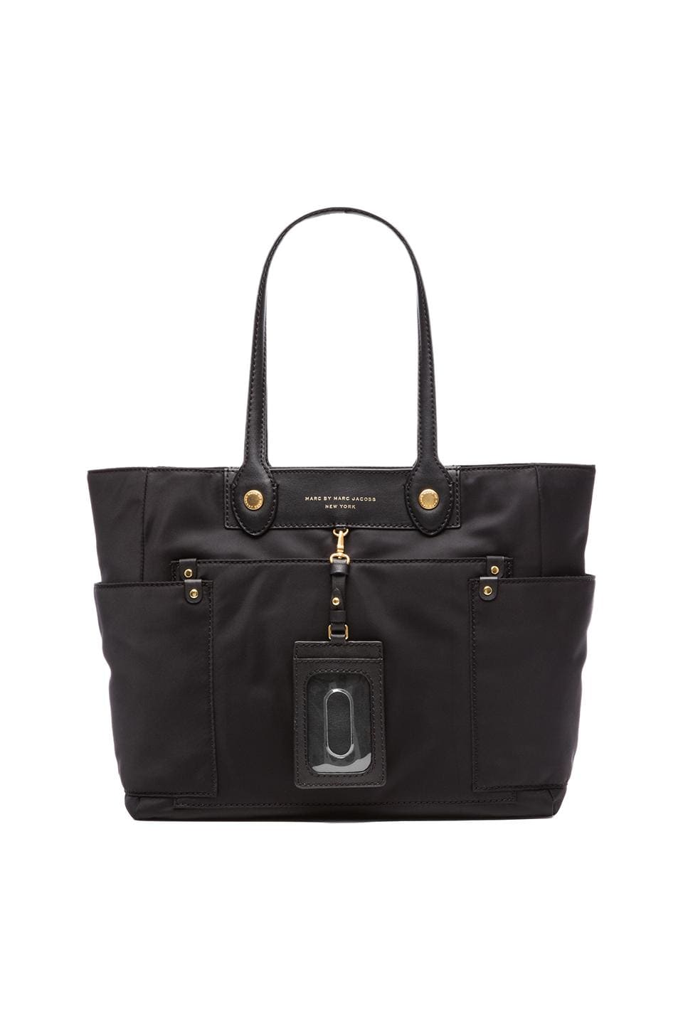 Marc by Marc Jacobs Clara Preppy Nylon Tote in Black