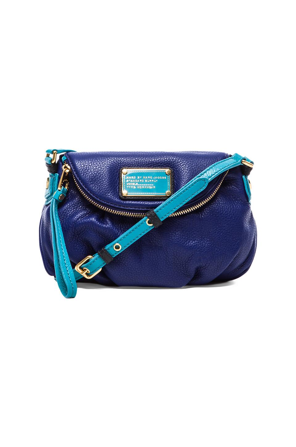 Marc by Marc Jacobs Classic Q Colorblocked Mini Natasha in Bright Royal Multi