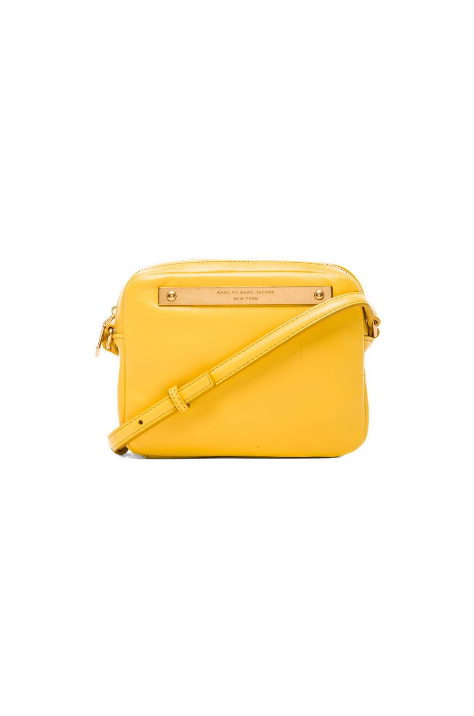 Marc by Marc Jacobs Goodbye Columbus Mireu Crossbody in Canary Yellow