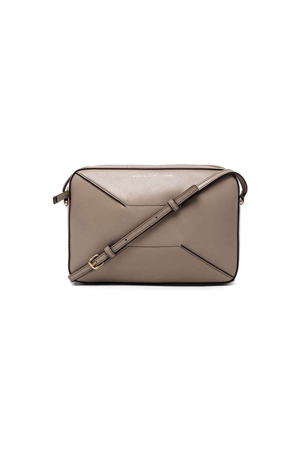 Marc by Marc Jacobs Hands Off Alex Crossbody in Pale Taupe