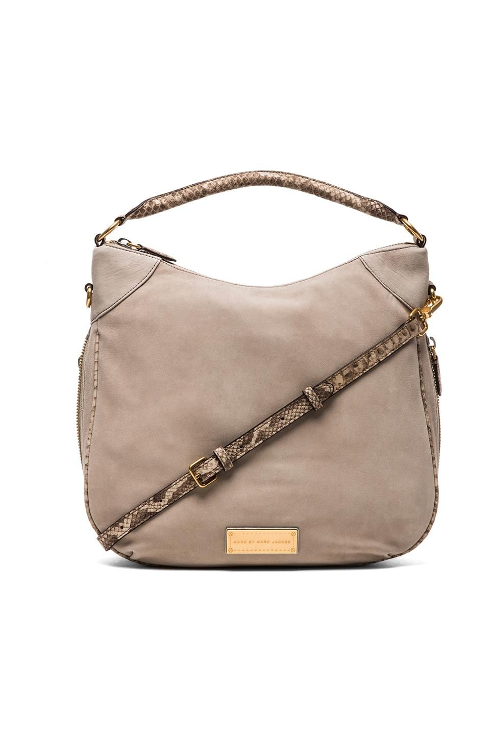 Marc by Marc Jacobs Washed Up Novelty Billy in Pale Taupe Multi