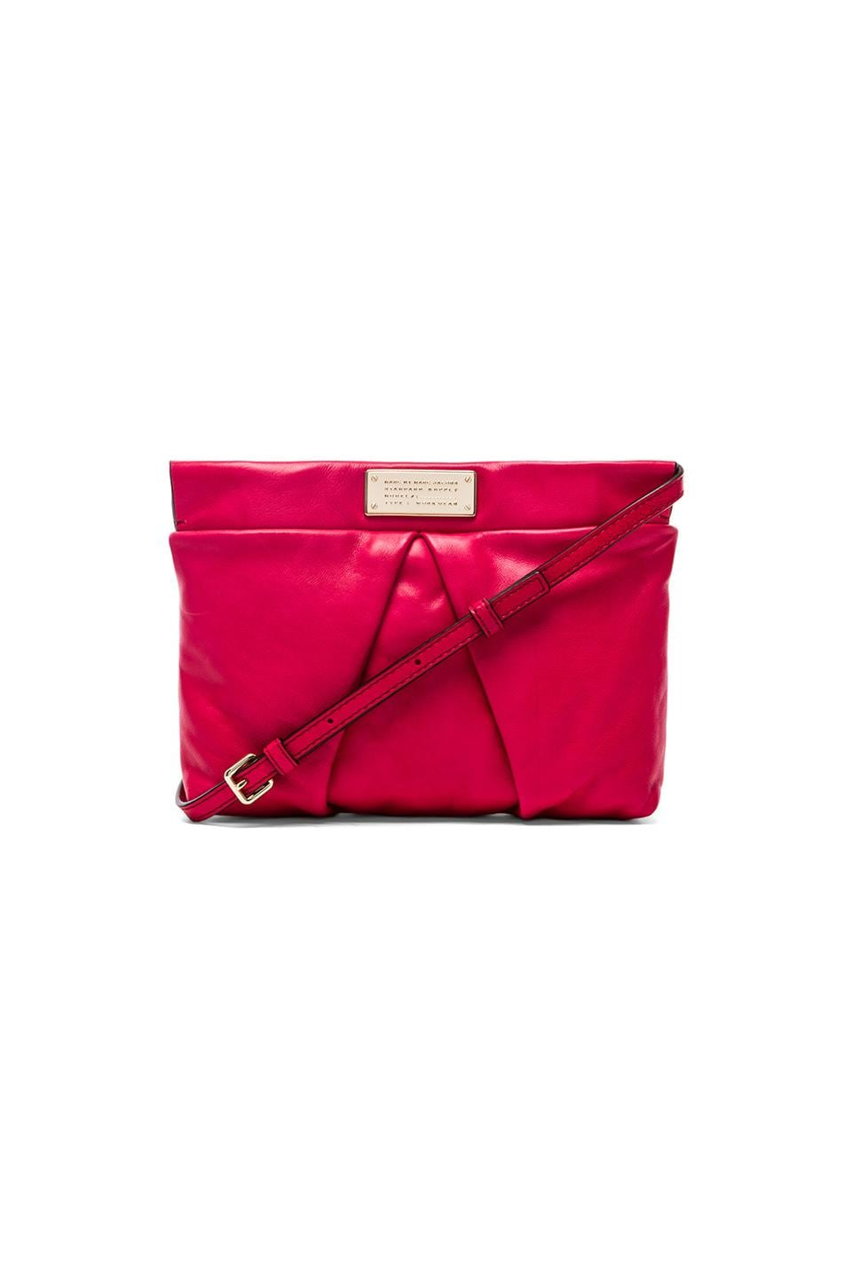 Marc by Marc Jacobs Percy Crossbody in Raspberries