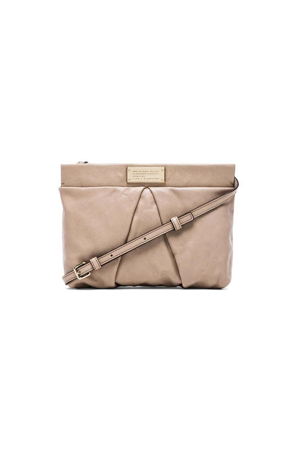 Marc by Marc Jacobs Percy Crossbody in Pale Taupe