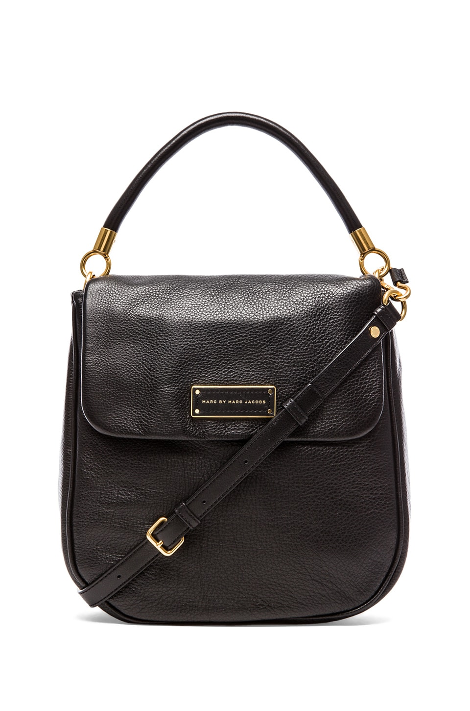 Marc by Marc Jacobs Too Hot to Handle Laetitia Hobo in Black