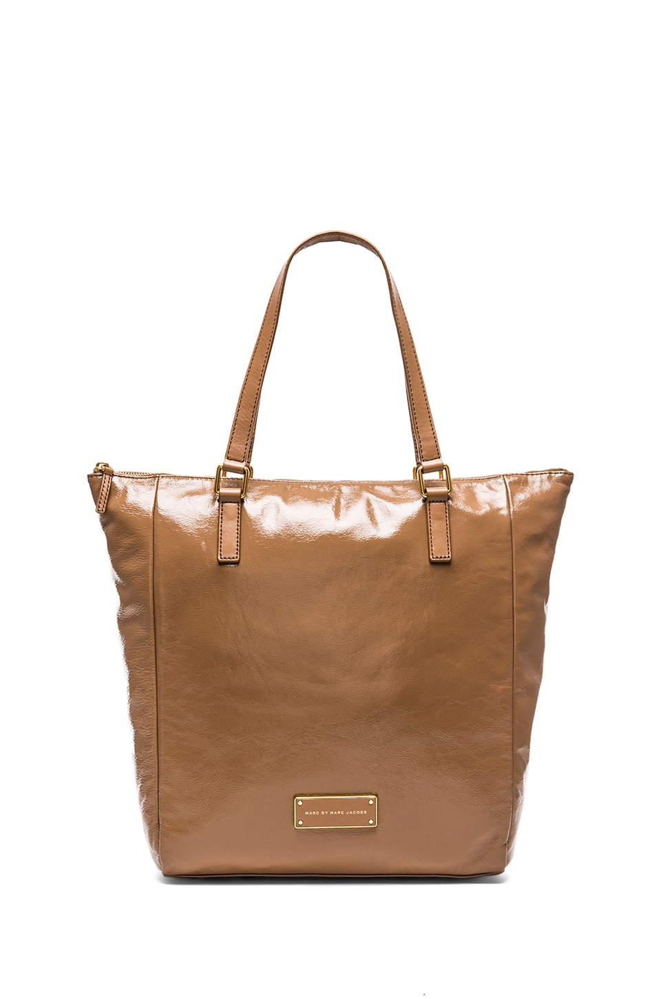 Marc by Marc Jacobs Take Me Shiny Tote in Praline