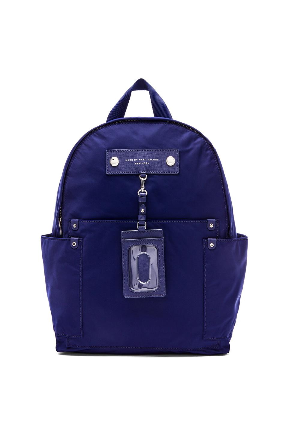 Marc by Marc Jacobs Preppy Nylon Backpack in Deep Ultraviolet