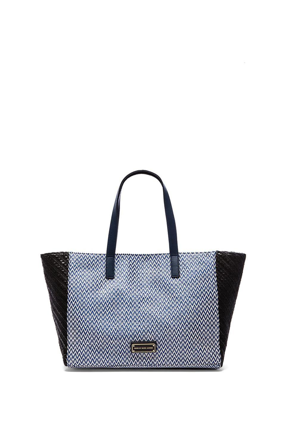 Marc by Marc Jacobs Isle de Sea Tina Tote in Blue Zig Zag Multi