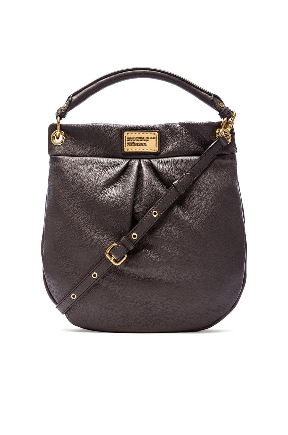 Marc by Marc Jacobs Classic Q Hillier Hobo in Faded Aluminum