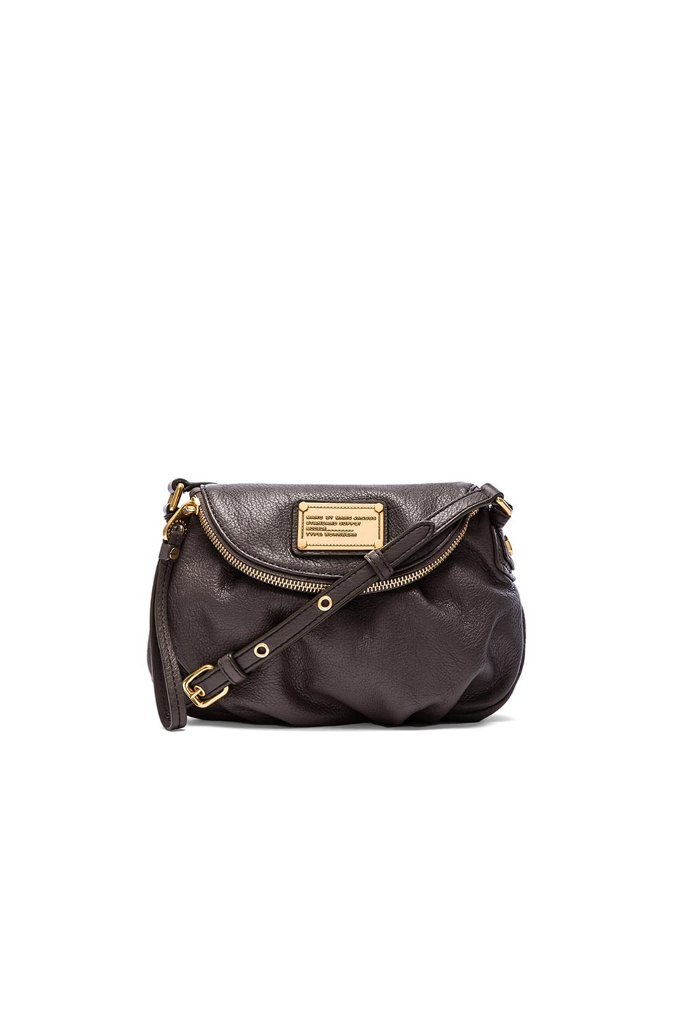 Marc by Marc Jacobs Classic Q Mini Natasha in Faded Aluminum