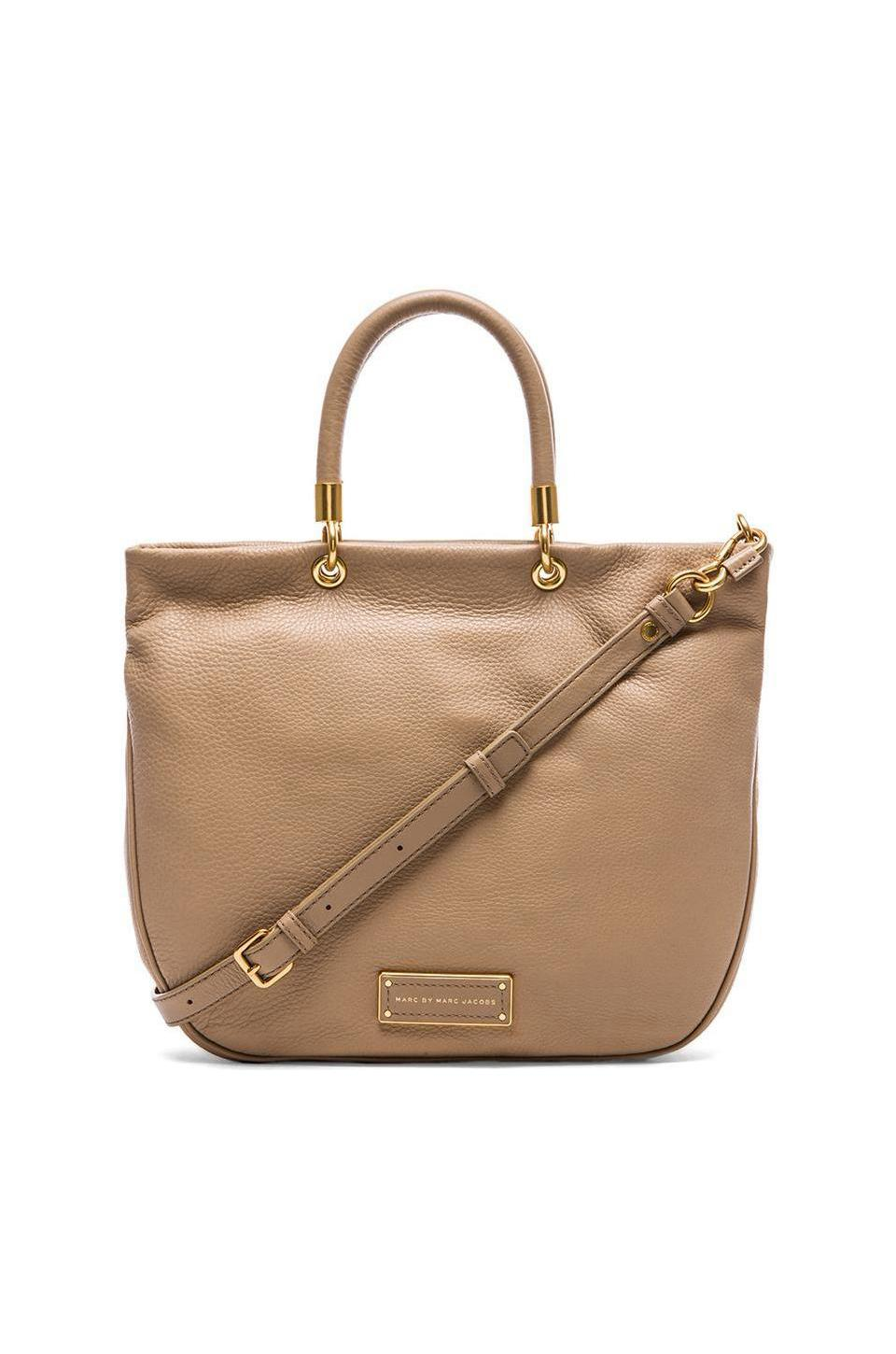 Marc by Marc Jacobs Too Hot to Handle Mini Shopper in Tracker Tan