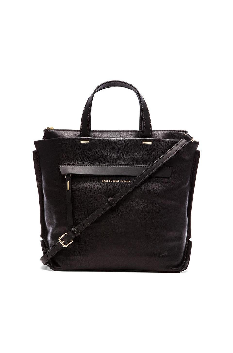 Marc by Marc Jacobs Deconstructed Mansy Tote in Black