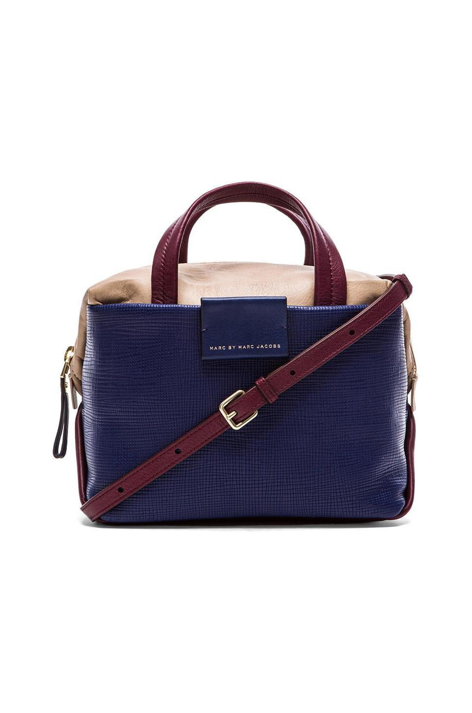 Marc by Marc Jacobs Box Satchel in Ultra Blue Multi