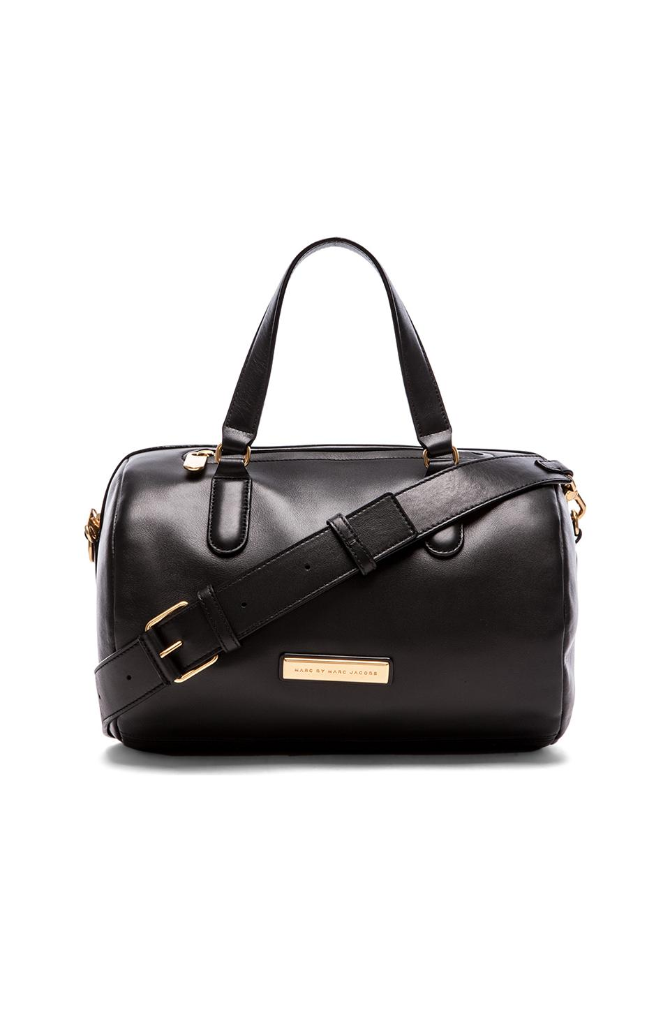 Marc by Marc Jacobs Luna Satchel in Black