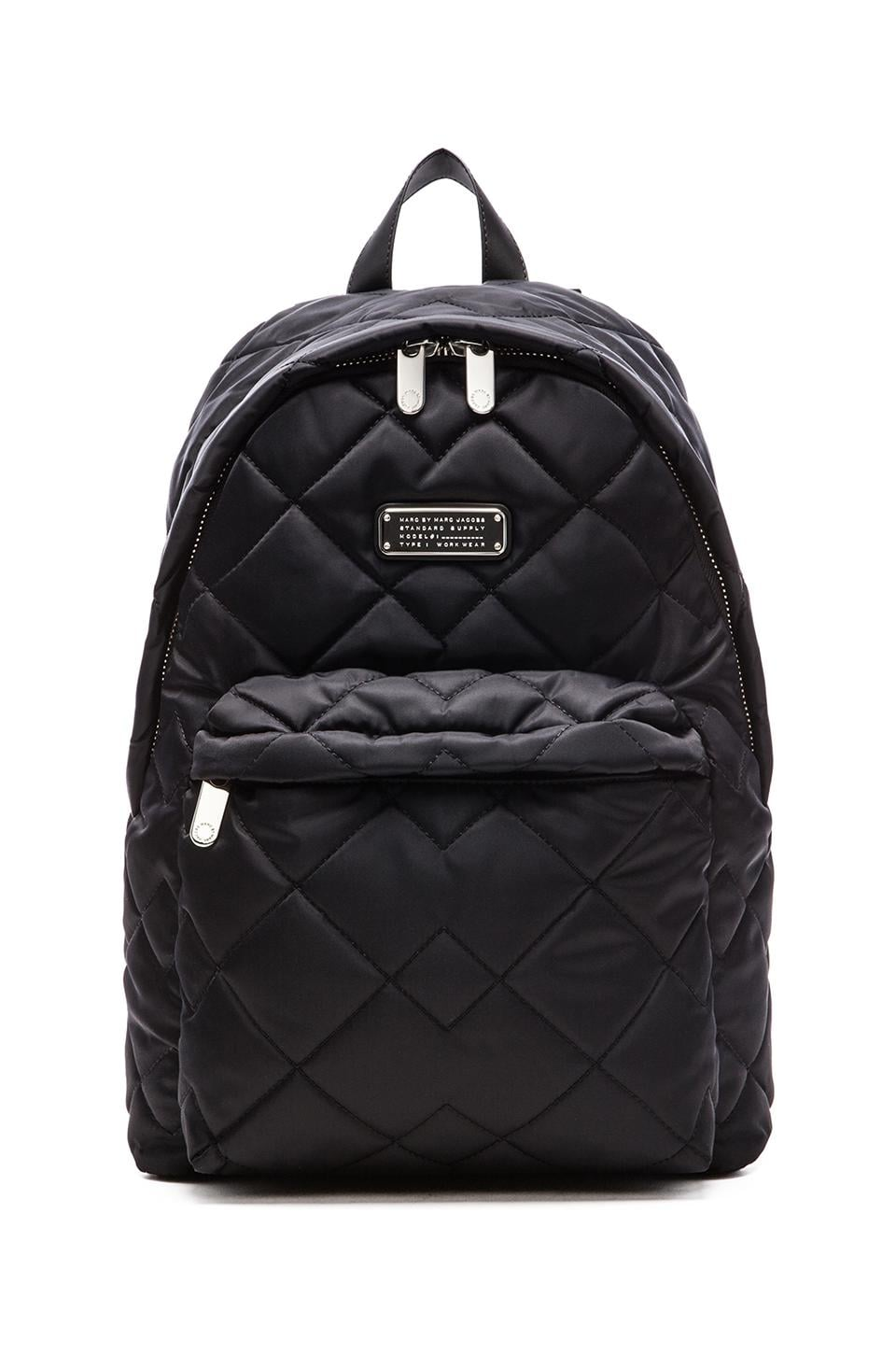 fcb240d8652e Marc by Marc Jacobs Crosby Quilt Backpack in Black
