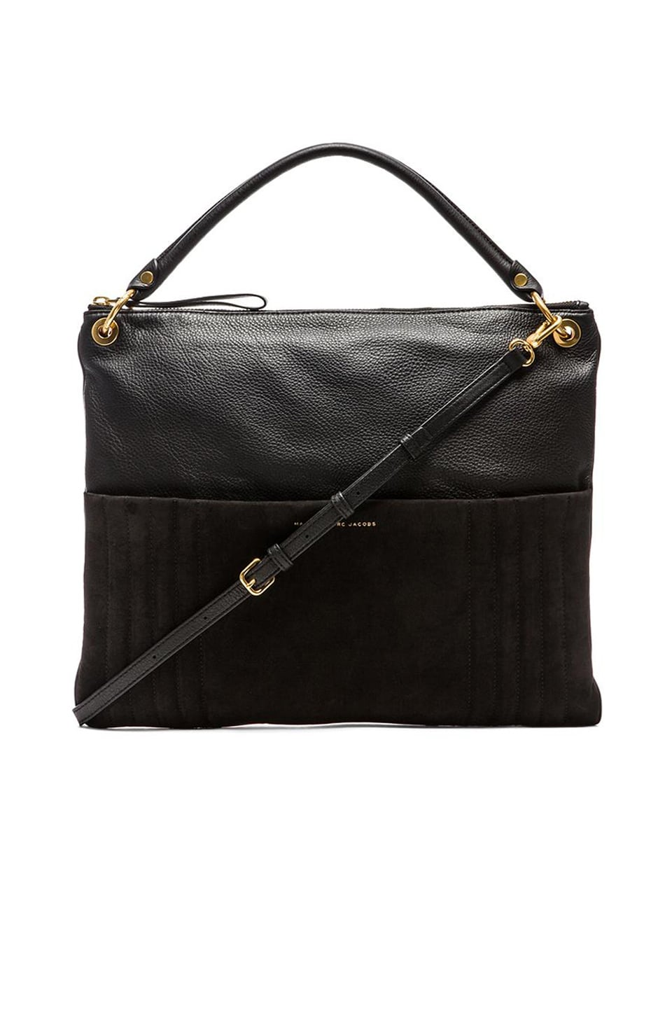 Marc by Marc Jacobs Tread Lightly Hobo in Black