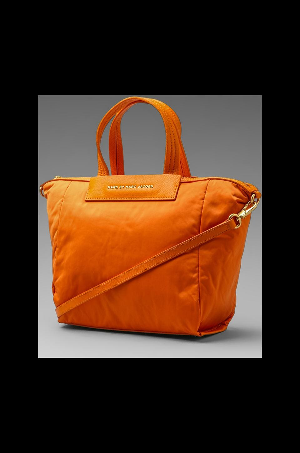 Marc by Marc Jacobs Jewel on the Nylon Petite Puff in Saffron