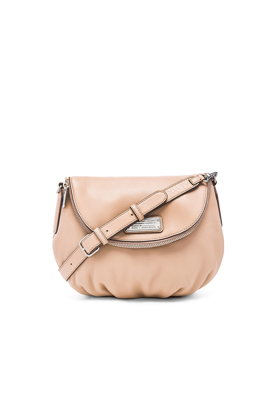 Marc by Marc Jacobs New Q Natasha Crossbody in Cameo Nude