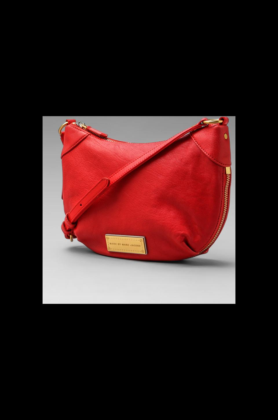 Marc by Marc Jacobs Washed Up X Body Bag in Flame Scarlet